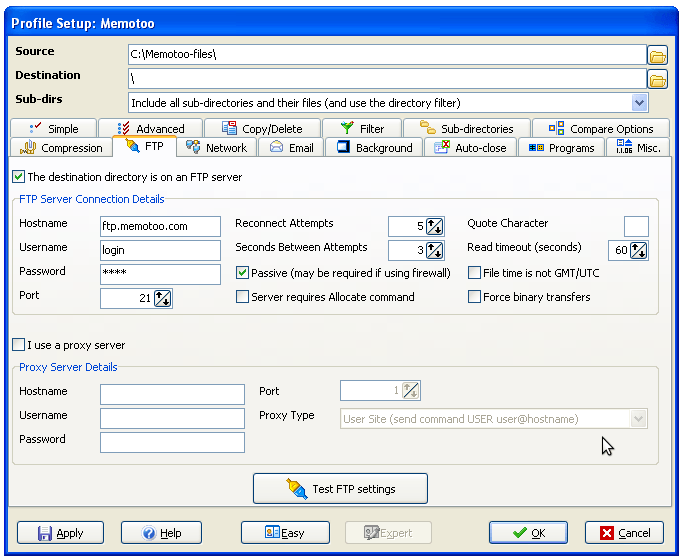 Sync my files with my computers (Windows, Linux